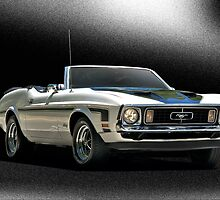 1971 Ford Mustang Convertible by DaveKoontz