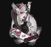 Dolls of Havoc Logo by Miss Cherry  Martini