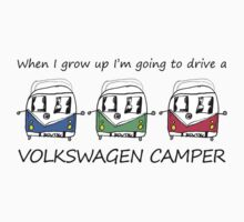 Kids VW Camper by splashgti
