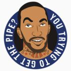 JR SMITH, you trying to get the pipe by Marco Mitolo
