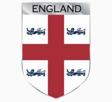 ENGLAND EMBLEM by Joe Bruno
