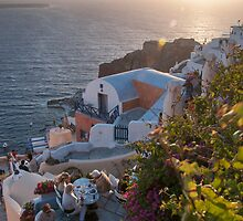 COLORS OF SANTORINI by Carlo Sebastiani