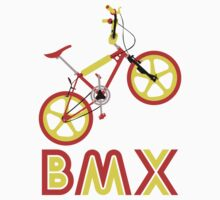 BMX (Red & Yellow) by Paulychilds