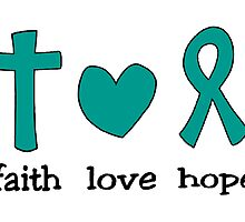 Faith Love Hope by Kristen Koehn
