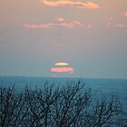 Sunset along Lake Michigan - 3 by Debbie Mueller
