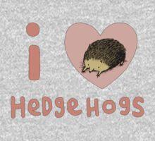 I ❤ Hedgehogs Kids Clothes