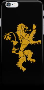 House Lannister Worn Black by Greg Brooks