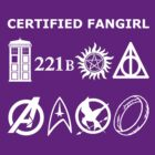 Certified Fangirl T-Shirt by fairy911911