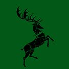 House Baratheon Worn Green by Greg Brooks