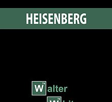 Breaking Bad - Heisenberg Black [IPhone Case] by Ilcho Trajkovski