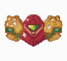 Samus Pixel'd by Jimzydoodah