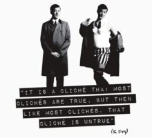 Stephen Fry / On Cliches by zombiedalek