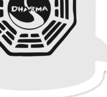 """Don't tell me what I can't brew!"" Dharma Initiative Coffee (Lost) Sticker"