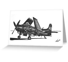 Douglas AD-4 Skyraider  Greeting Card