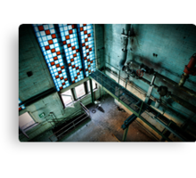 Magnificent industrial interior  Canvas Print