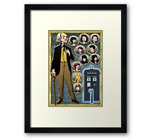 Grandfatherly Fugitive Framed Print