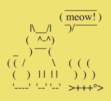 Ascii Cat by dukepope