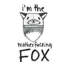 """I'm The Fox"" Phone Case by el-3ments"
