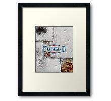 TORGUE! Framed Print