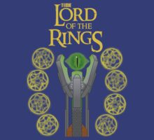 Time Lord of the Rings by Irvin Pagan