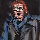 portrait of Linda Hunt by resonanteye