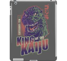 King of the Kaiju iPad Case/Skin