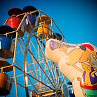 Pirate and Ferris Wheel by KellyHeaton