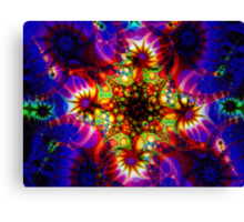 Fired Synapse of the Holographic Mind Canvas Print