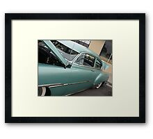 1951 Fleetline; Historical Front Street 12th Annual Car Show, Norwalk, CA USA Framed Print