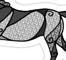 The Dappled Grey Mare Sticker