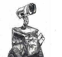 Wall-E by Danella Tutt