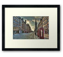 Royal Street Framed Print