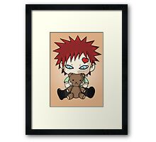 Chibi Love Boy Framed Print