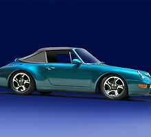 1996 Porsche 911 Convertible by DaveKoontz