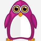 Violet Penguin by Adamzworld