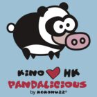 KINO loves Hong Kong - Pandalicious by Kokonuzz