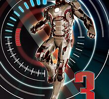 Iron Man Three by GeigerCounter