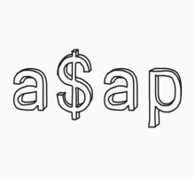 A$AP - Simple Shirt by lerogber