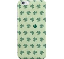 Lucky Clover Pattern iPhone Case/Skin
