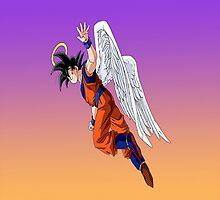 Goku Angel by DeadScream
