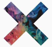 THE XX LOGO-RAINBOW SMOKE  by symptoms
