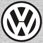 Volkswagen Badge Logo by vincepro76