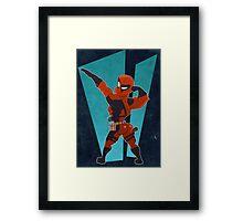 Deadpool Got Da Booty Framed Print