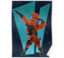 Deadpool Got Da Booty Poster