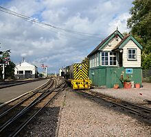 RHDR New Romney Station by Nigel Bangert