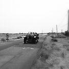 Vintage Car at Dungeness by Nigel Bangert