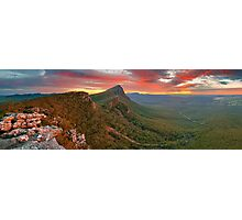 Dawn over Signal Peak, Grampians, Victoria, Australia Photographic Print
