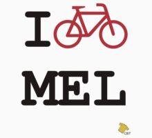 I Bike Melbourne by hdevaux