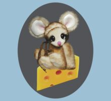 ✿♥‿♥✿LITTLE NIBBLES MOUSE ON CHEESE CHILDRENS TEE SHIRT✿♥‿♥✿ by ✿✿ Bonita ✿✿ ђєℓℓσ