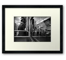 Metro Connection Framed Print